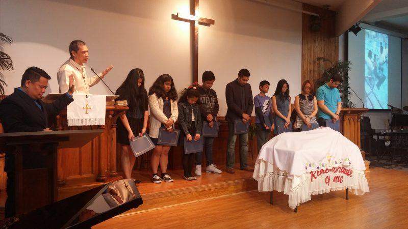 Communicants' Class – Filipino United Community Church
